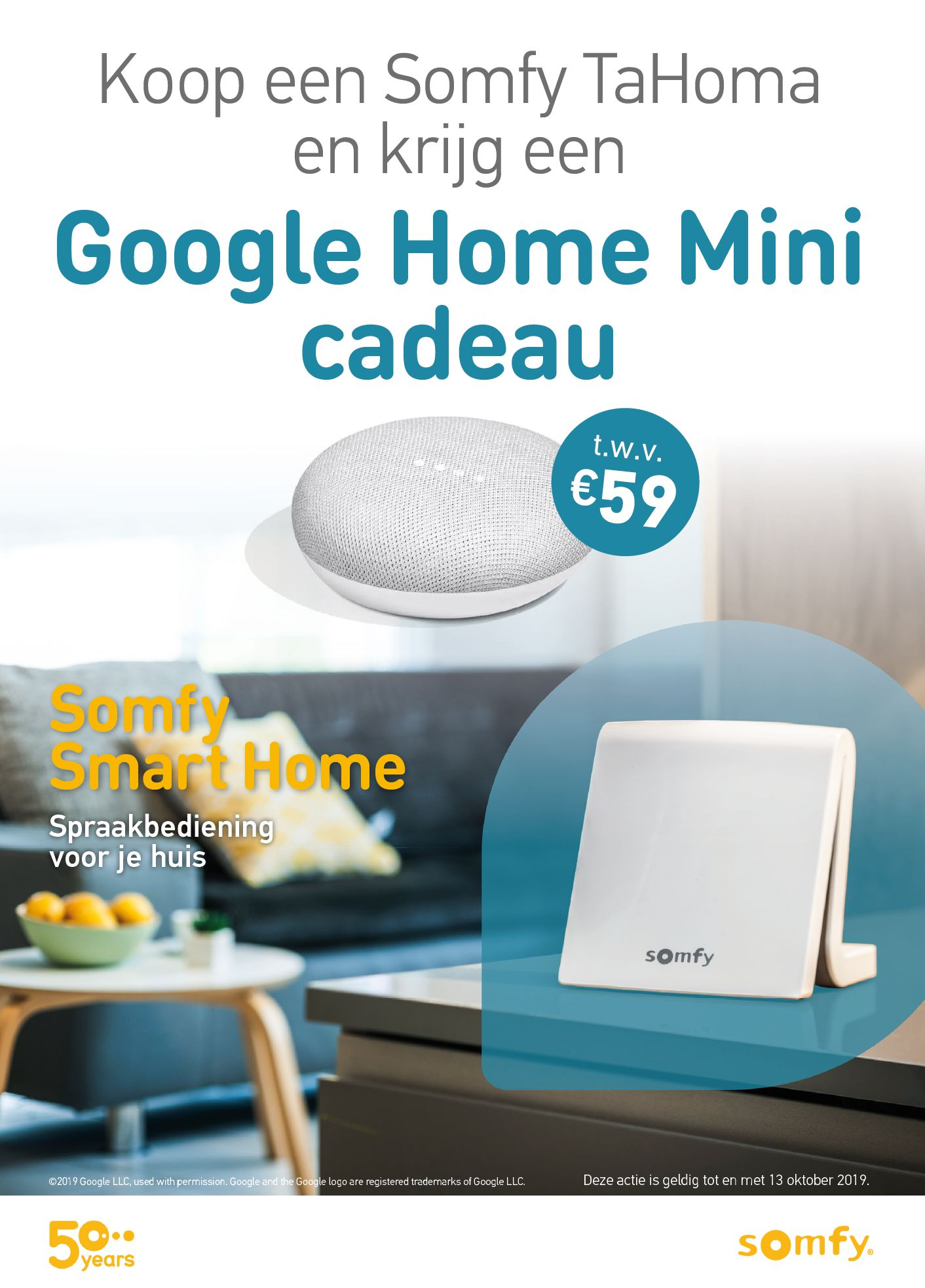GRATIS google home mini